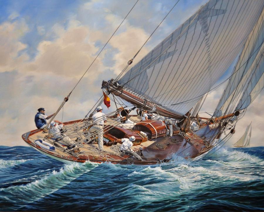 Marine Art  U00bb Spike Wademan  U2013 Aviation And Maritime Artist